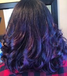 Royal Purple Ombre