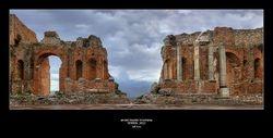 Ancient theatre of Taormina - Taormina - Sicily - Italy