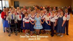 January 2012 Club members at our 38th Anniversary