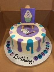 Art Studio Birthday cake