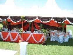 Sports club wedding