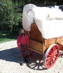 back of wagon