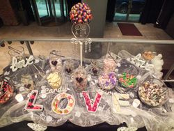 Sweet buffet table Hire, Manchester.