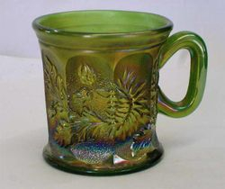 Dandelion mug, green