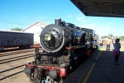 Steam Train Visiting Charleville from Brisbane - April 2007