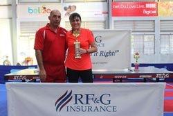 Petie Matus - Women Division Champion