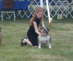 Mya young handler & Anais