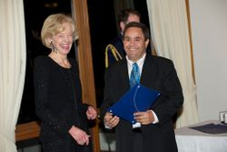 Meeting the Governor General Quentin Bryce