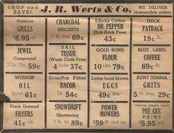 J.R. Werts & Co Ad