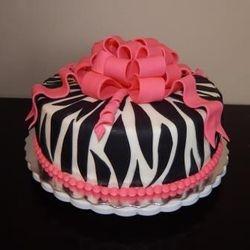 Birthday gift cake