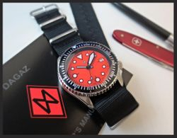 MODIFIED SKX- ORANGE HELIOX with SD KIT