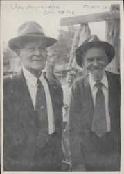 John Householder and Frank Snare