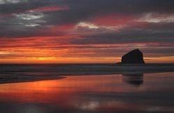 Haystack Sunset 2