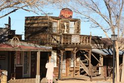 Pioneer Town at Yucca Valley CA