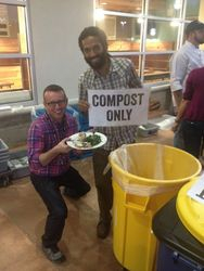 Composting at Whole Foods