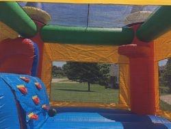 Inside Jump Castle