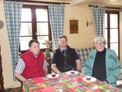 Jean-Luc, Robert et Rodolphe
