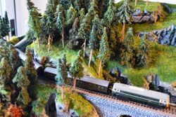 trains passing through