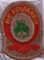 First Class Badge cloth