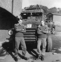 Mike Welchman and Jumper Collins Belfast 1972