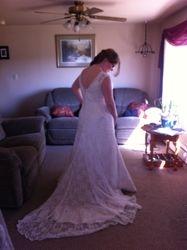 Becca's  Wedding Dress #2-3
