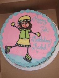 Iceskater Cake