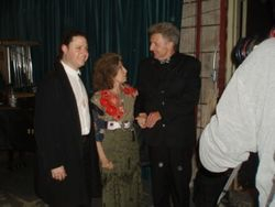 with violinist Ida Haendel and cellist Matt Haimovitz, Montreal 2008