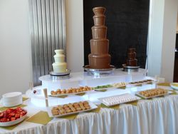 Aagrah bradford Chocolate Fountain Hire