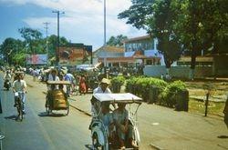 225 Trishaws in Djakarta 1960