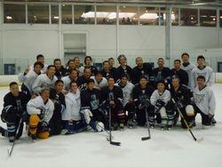 With Winnipeg Emperors