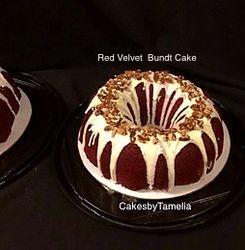 Red Velvet Bundt Cakes