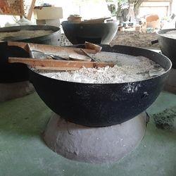 Fabrication de la farine de manioc