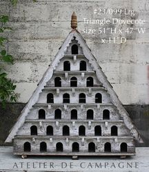 SOLD #23/099 Lrge Triangle Dovecote SOLD