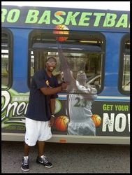 Not Everyday You See Your Pic on A Bus