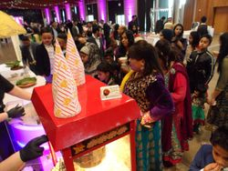 asian wedding serving 800 guests