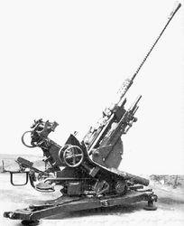 2cm (20mm) Flak (no shield)