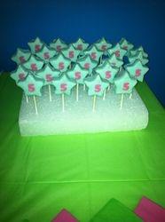 Rock Star cake pops!