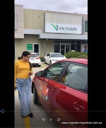Deer Park VicRoads Pass First Time !! Well Done Nikita | Taylors Lakes | Sunshine | Ascot Vale