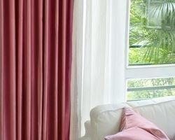 Luxury Fine Rose Silk Satin Blackout Curtains Panel ?Pinch Pleat 25W X 96L