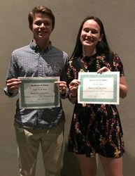 2018 Scholarship/Award Winners!