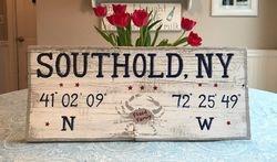 Southold, NY sign