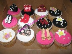 CC42 -Handbag & Shoe Fetish Cupcakes