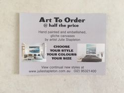 ART TO ORDER