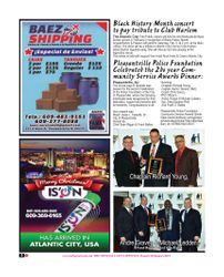 BAEZ SHIPPING / ISUN / PLEASANTVILLE POLICE FOUNDATION  (The Society Page en Espanol)