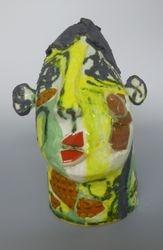 Mary Jones Ceramics. Lemon Puff. SOLD