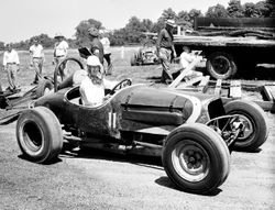 A young Pat O'Conner at Winchester 1950