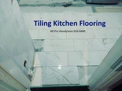 Kitchen tiling 2018