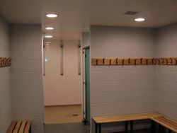 Changing Room and Showers