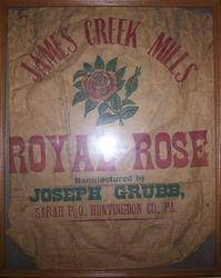 Joseph Grubb James Creek Mill Bag