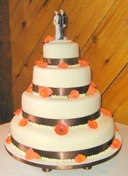 Wedding Cake (4 tiers)